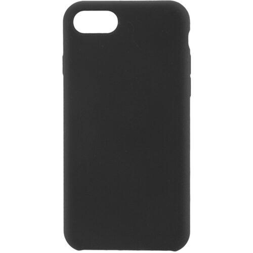 COMMANDER Back Cover Soft Touch für Apple iPhone8/ SE 2021 Schwarz