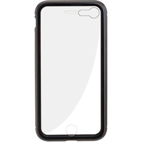 COMMANDER MAGNET COVER Duo Glas für Apple iPhone8 / SE 2021 Schwarz