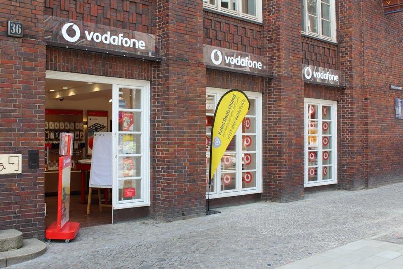 Vodafone Shop Hamburg Gaensemarkt 36 20354 Hamburg Aussenansicht