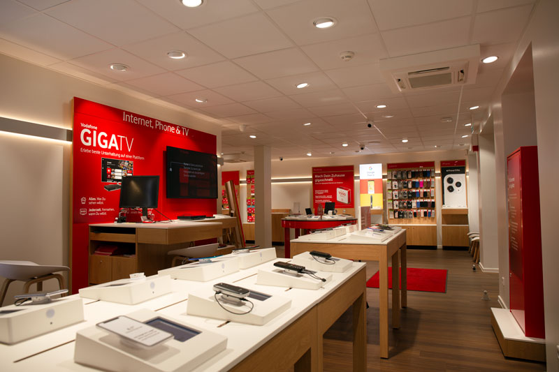 Vodafone Shop Altona Ottenser Hauptstraße 3 22765 Hamburg Innenansicht Smartphones Beratung