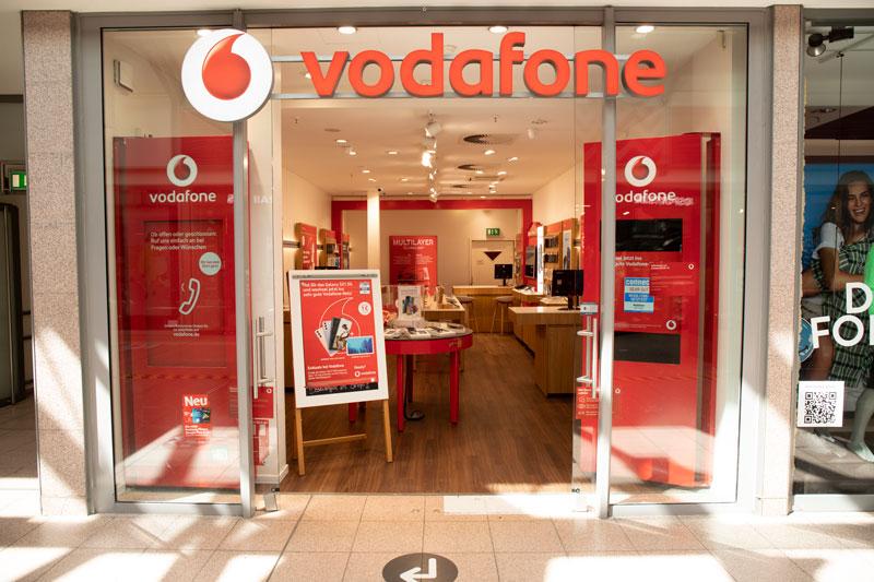 Vodafone Shop Hamburg Billstedt Center Außenansicht