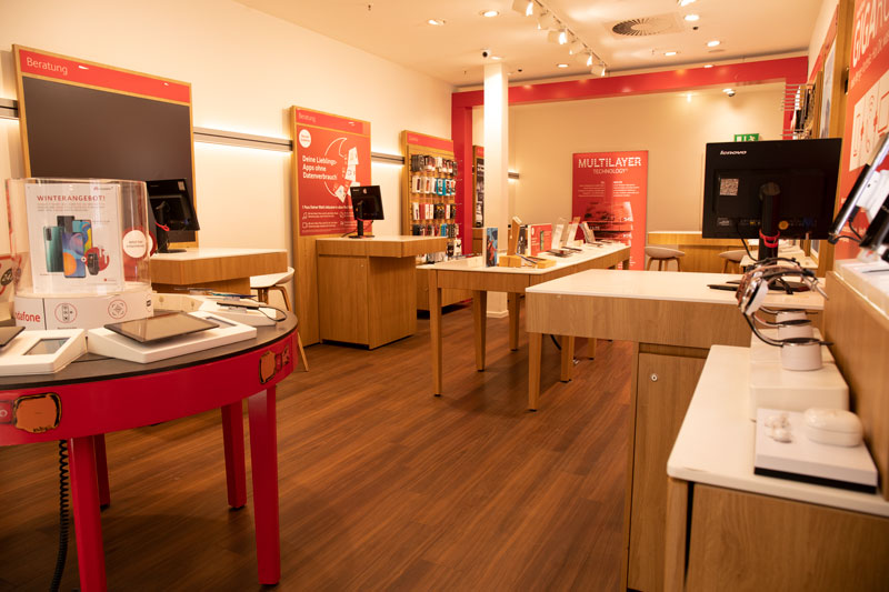 Vodafone Shop Hamburg Billstedt Center Innen Beratung