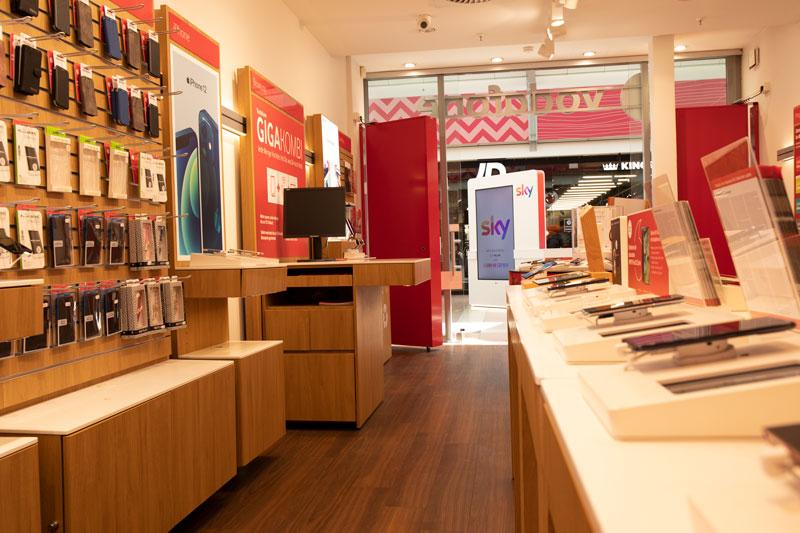 Vodafone Shop Hamburg Billstedt Center Innen Smartphones