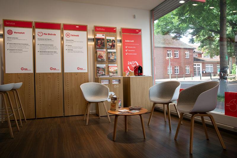Vodafone Shop Bremervörde Neue Straße 100 Innen Chillout Area