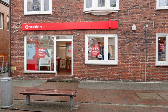 Vodafone Shop Brunsbüttel Koogstraße 74 Außenansicht