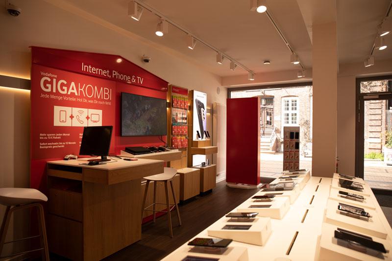 Vodafone Shop Elmshorn Königstrasse 59 Innenansicht
