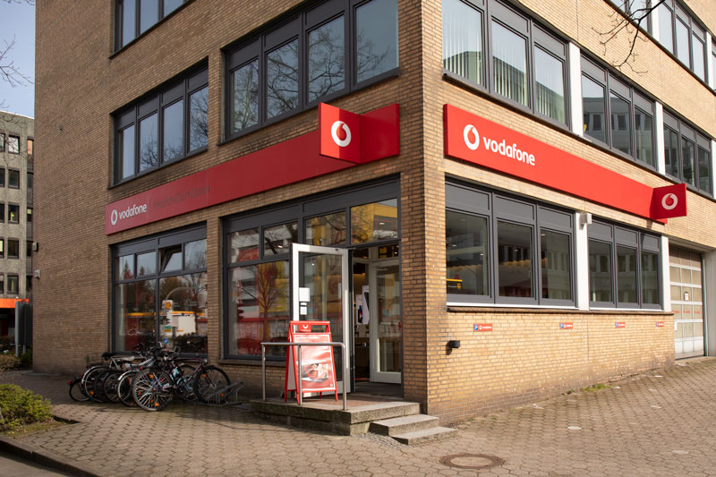 Vodafone Shop Hamburg Wandsbek Friedrich Ebert Damm 130 22047 Hamburg Aussenansicht