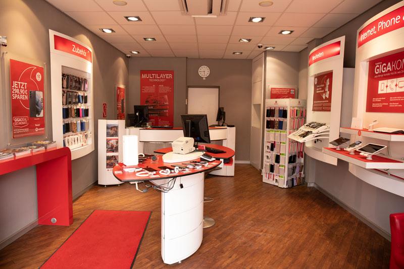 Vodafone Shop Hamburg Barmbek Fuhlsbütteler Straße Innen Berater
