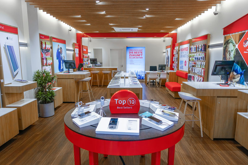 Vodafone Shop Langenhorn Langenhorner Markt 7c Innenansicht
