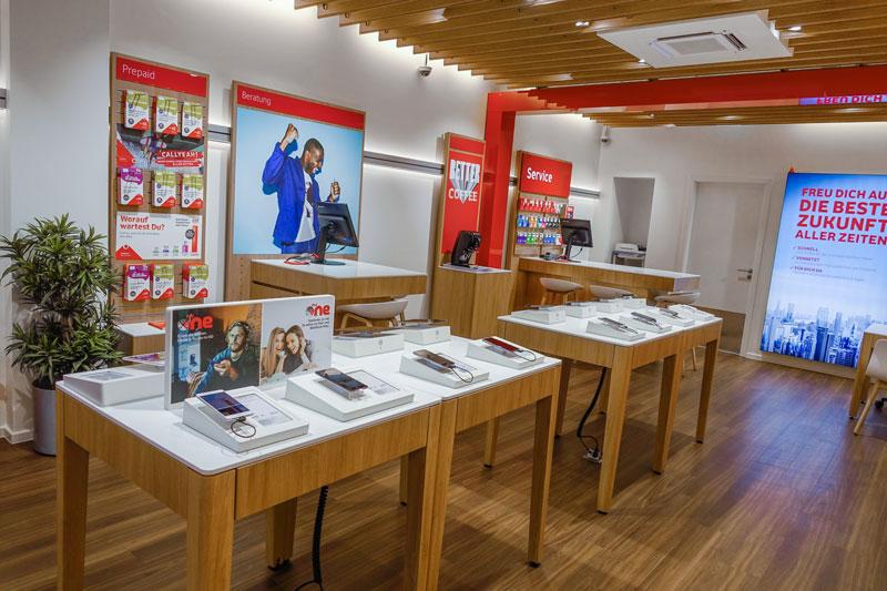 Vodafone Shop Langenhorn Langenhorner Markt 7c Innenansicht Smartphones