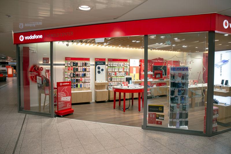 Vodafone Shop Herold-Center Berliner Allee 38-44a 22850 Norderstedt Aussenansicht