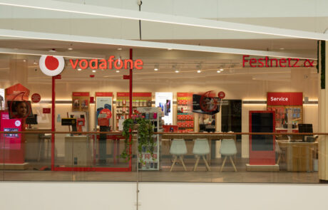 Vodafone Shop Hamburg Wandsbek Quarree Vorderansicht