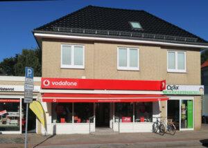 Vodafone Shop Schnelsen Außenansicht