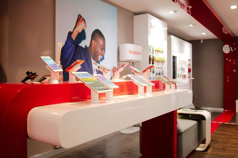 Vodafone Shop Schnelsen Innenansicht