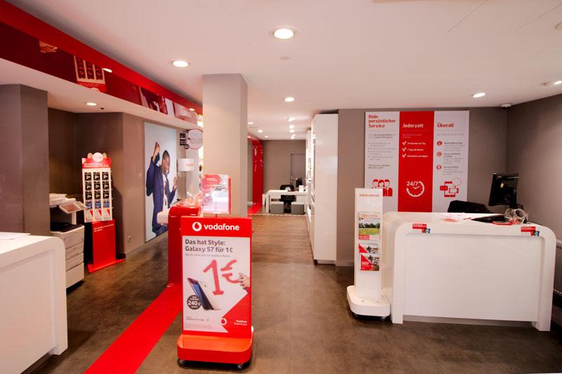Vodafone Shop Schnelsen Innen EIngangsbereich
