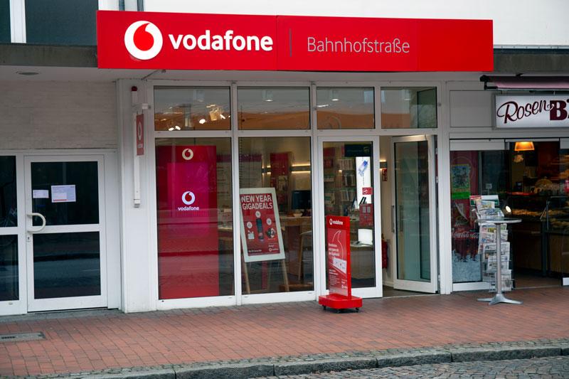 Vodafone Shop Wedel Bahnhofstrasse 44a 22880 WedelAussenansicht