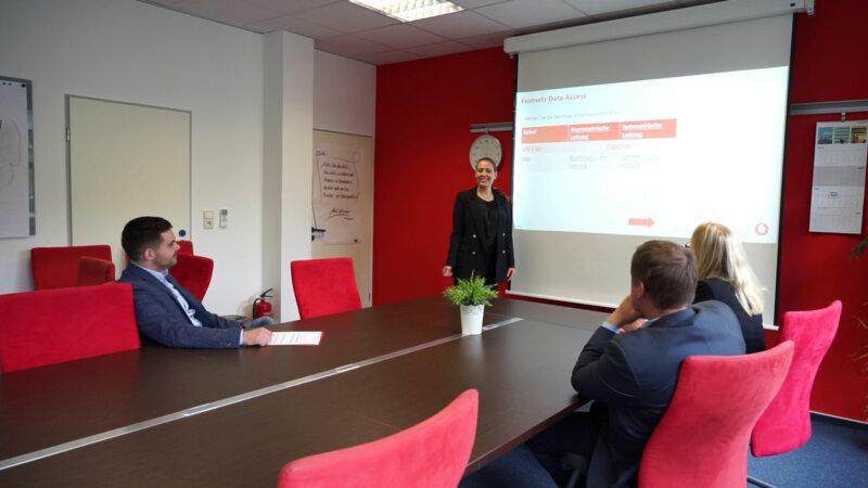 Vodafone geschäftskundenberater business sales manager