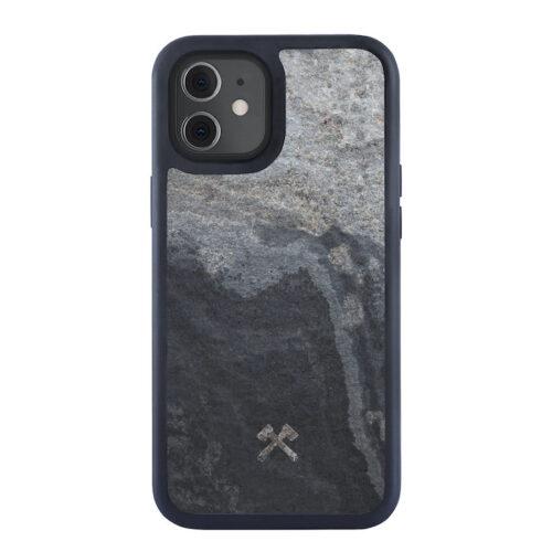 Woodcessories Bumper Stone Case Stein grau grey iphone 12 pro