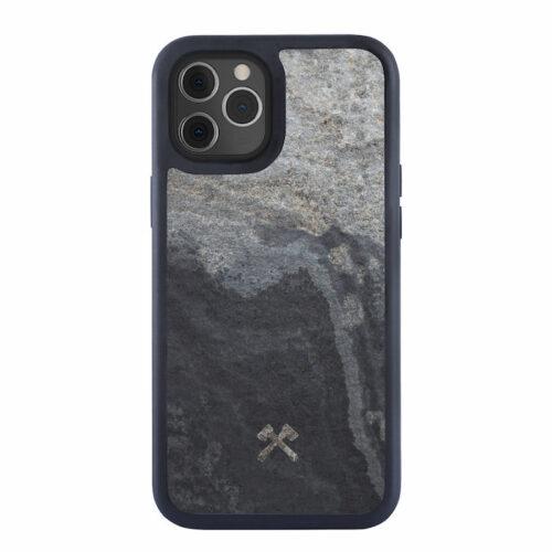 Woodcessories Bumper Stone Case Stein grau grey iphone 12 pro max